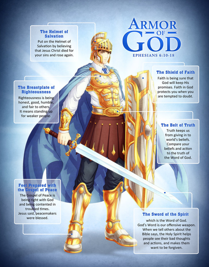 It is not a game, put on the whole armor of God - GLOFIRE TV