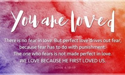 Hi everyone!I just want to share something that God told me on Tuesday during my prayer time about how much He loves us!