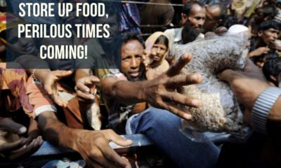 URGENT MESSAGE FROM THE LORD:STOCK UP YOUR FOOD RESERVES!